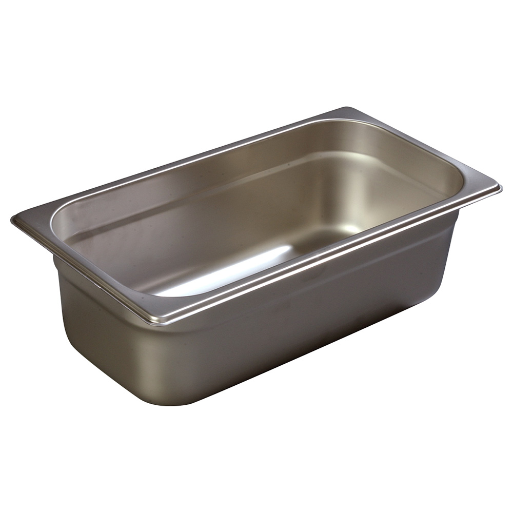 Carlisle 607134 Third-Size Steam Pan, Stainless