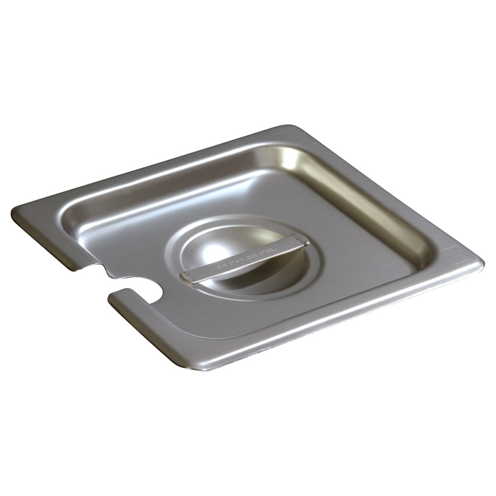 Carlisle 607160CS Sixth-Size Steam Pan Cover, Stainless