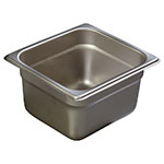 Carlisle 607164 Sixth-Size Steam Pan, Stainless