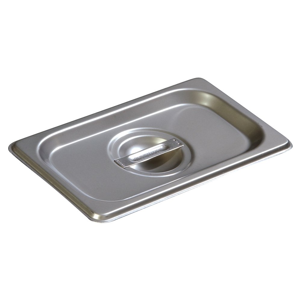 Carlisle 607190C Ninth-Size Steam Pan Cover, Stainless