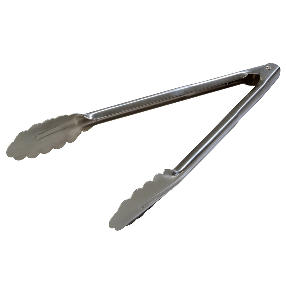 "Carlisle 607552 12"" Utility Tongs - Stainless"
