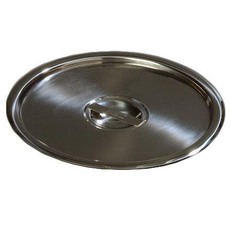"Carlisle 607912C 9"" Bain Marie Pot Cover - 18/8 Stainless"