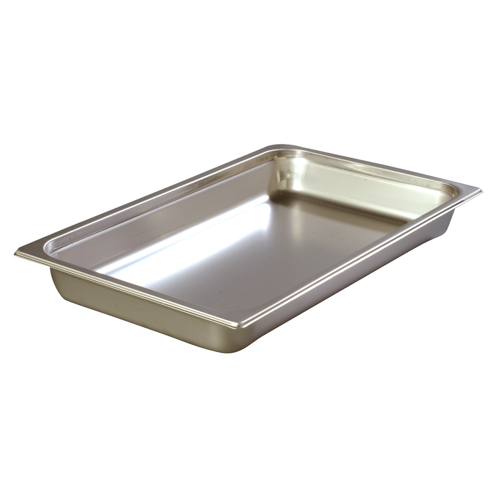 Carlisle 608002 Full-Sized Steam Pan, Stainless