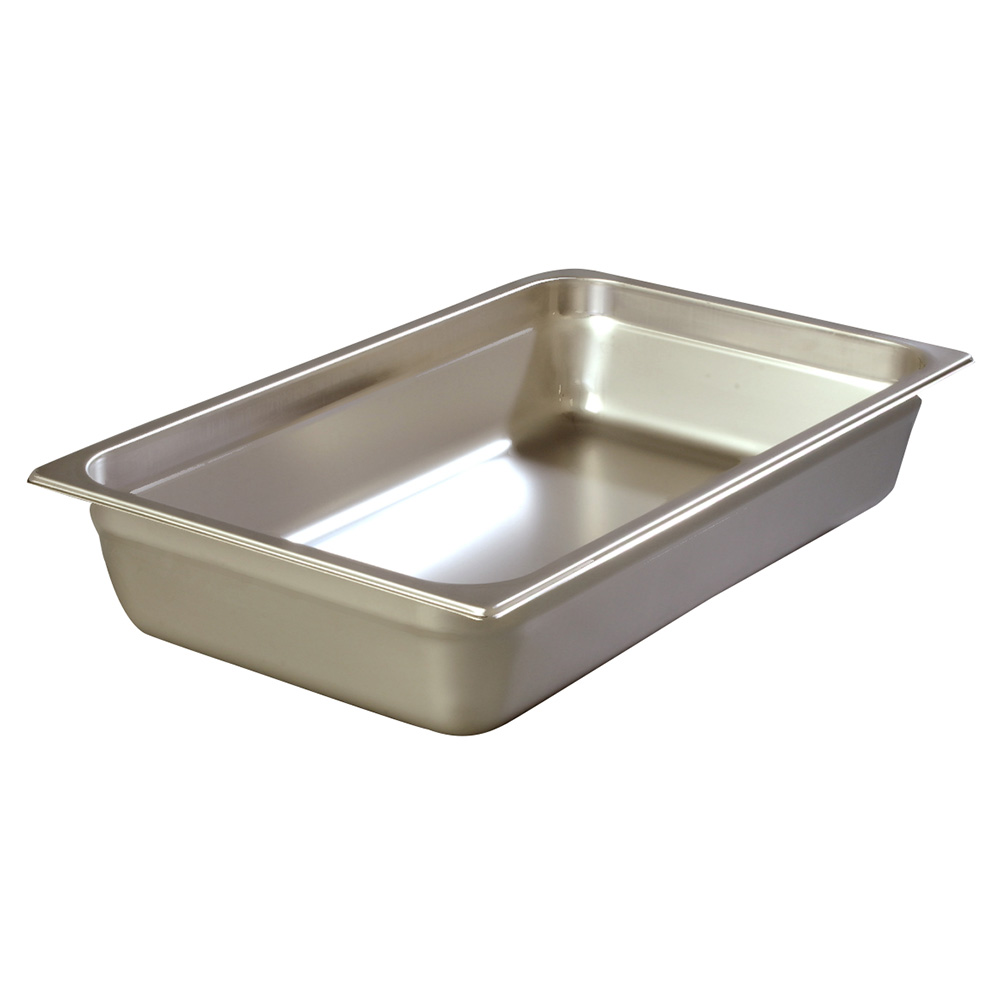 Carlisle 608004 Full-Sized Steam Pan, Stainless