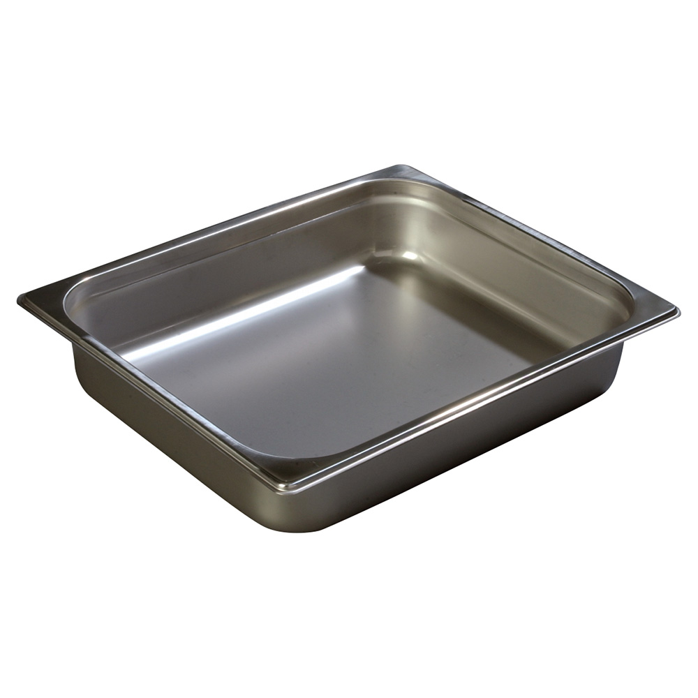 Carlisle 608122 Full-Sized Steam Pan, Stainless