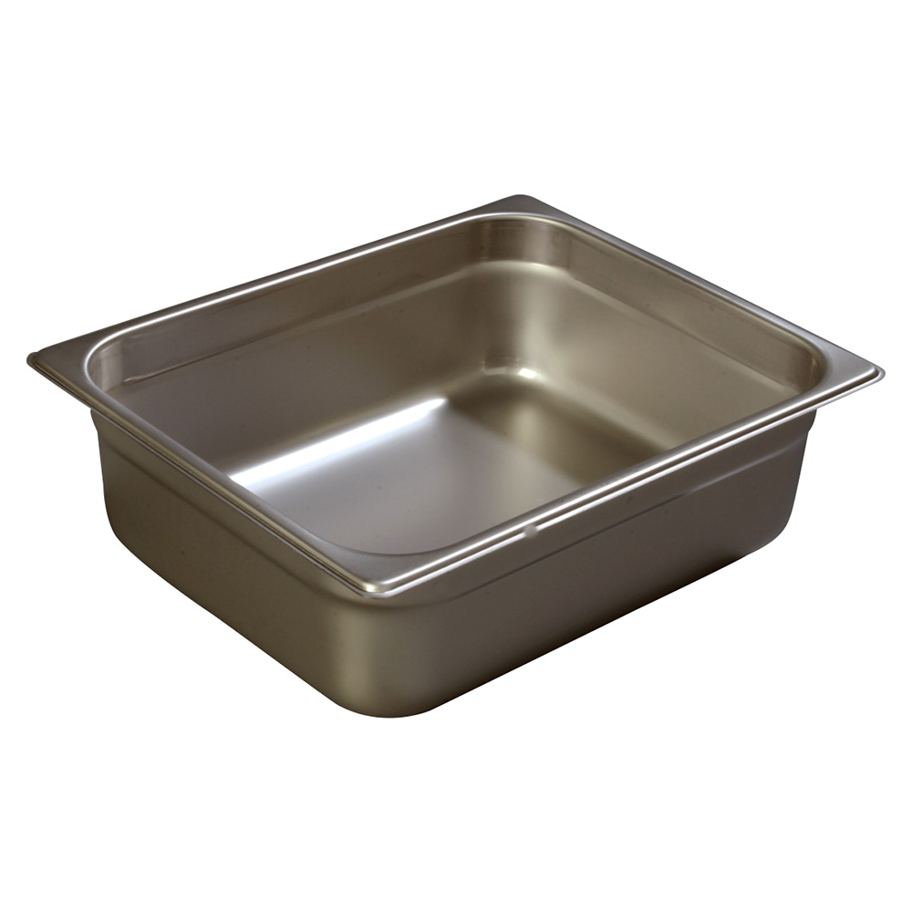 Carlisle 608124 Half-Sized Steam Pan, Stainless