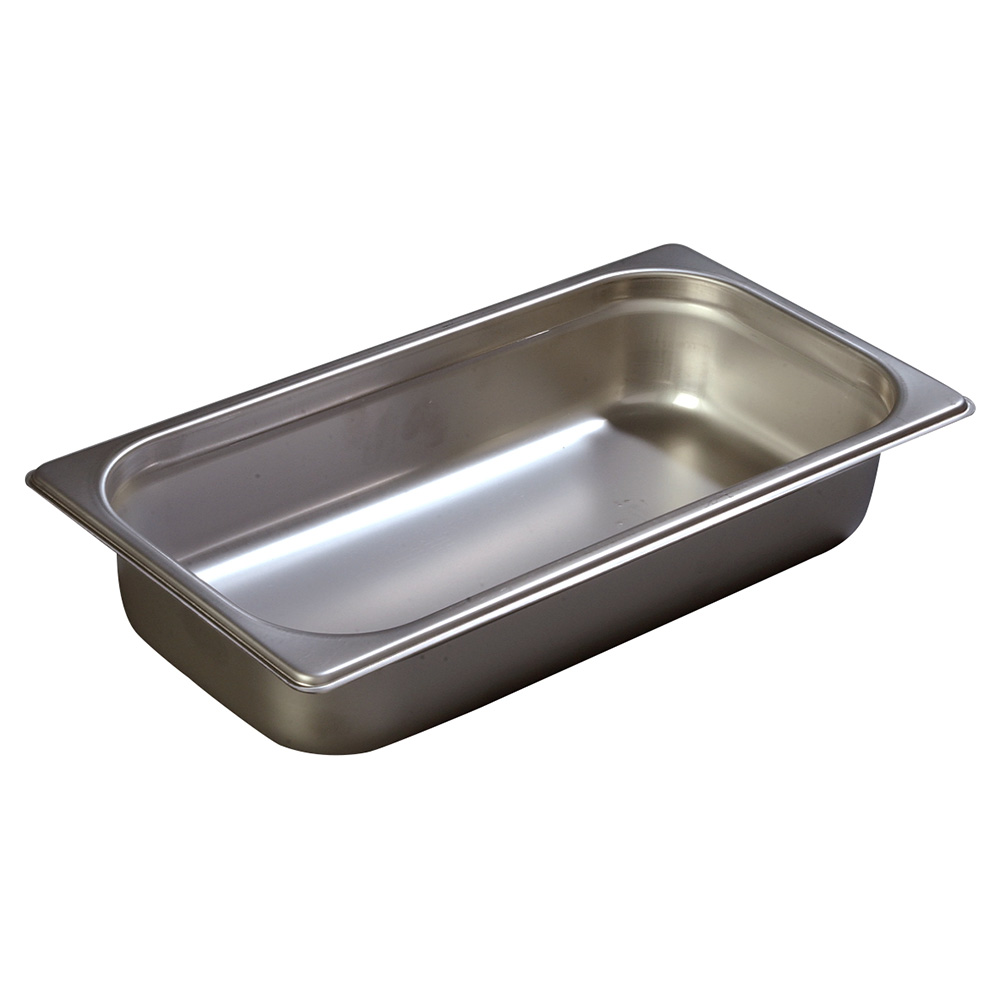 Carlisle 608132 Third-Size Steam Pan, Stainless