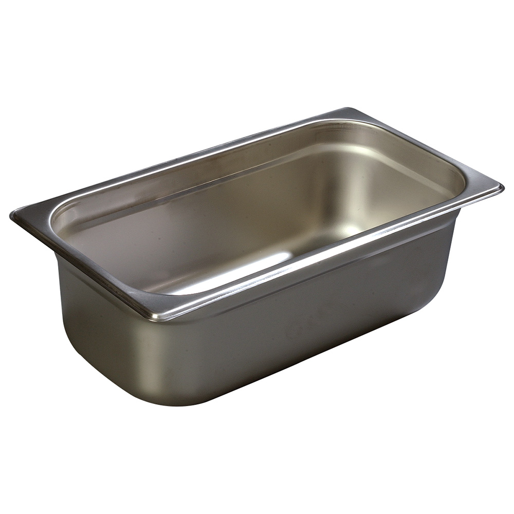 Carlisle 608134 Third-Size Steam Pan, Stainless