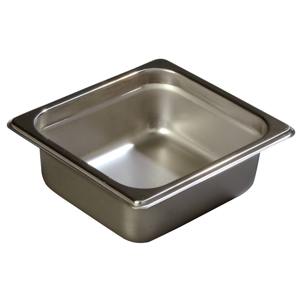 Carlisle 608162 Sixth-Size Steam Pan, Stainless