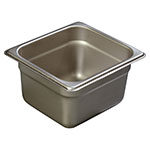 Carlisle 608164 Sixth-Size Steam Pan, Stainless