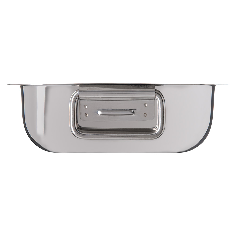 "Carlisle 609083 8.3"" Square Display Dish - Stainless"