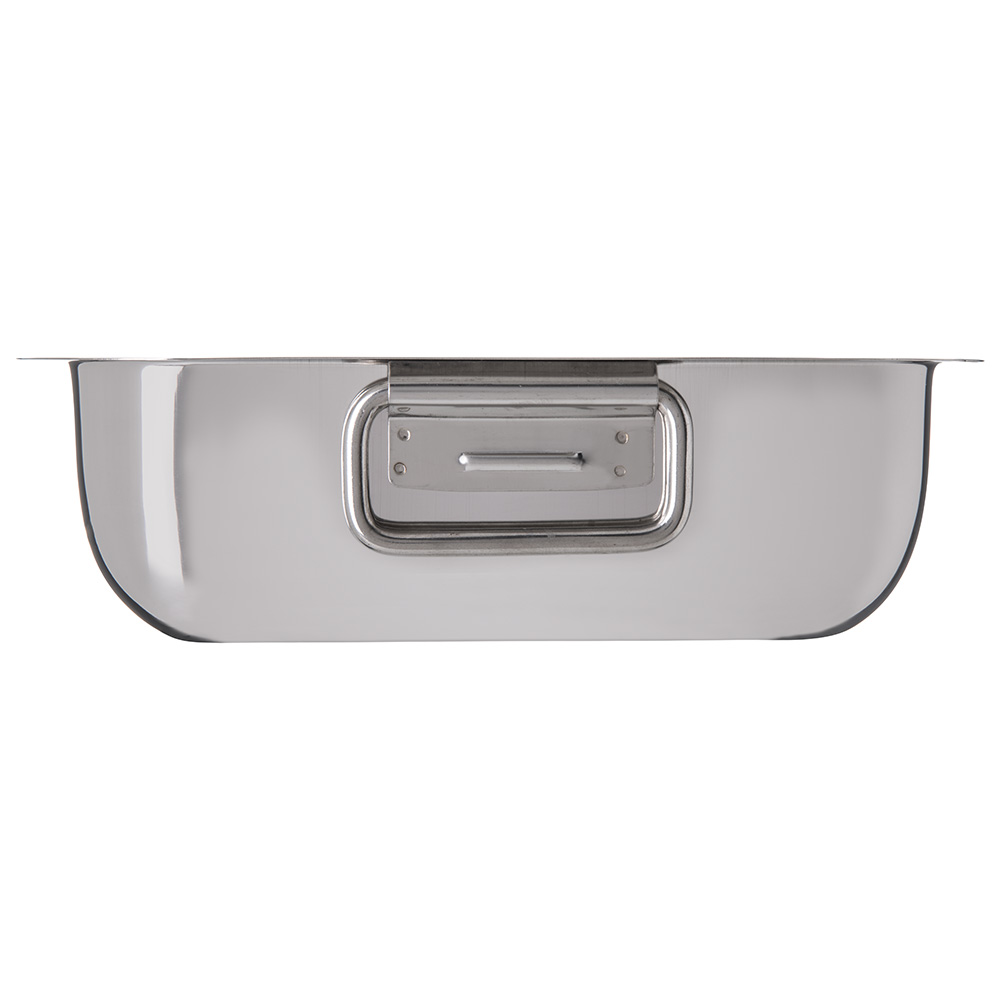 "Carlisle 609084 10"" Square Display Dish w/ 100-oz Capacity, Stainless"