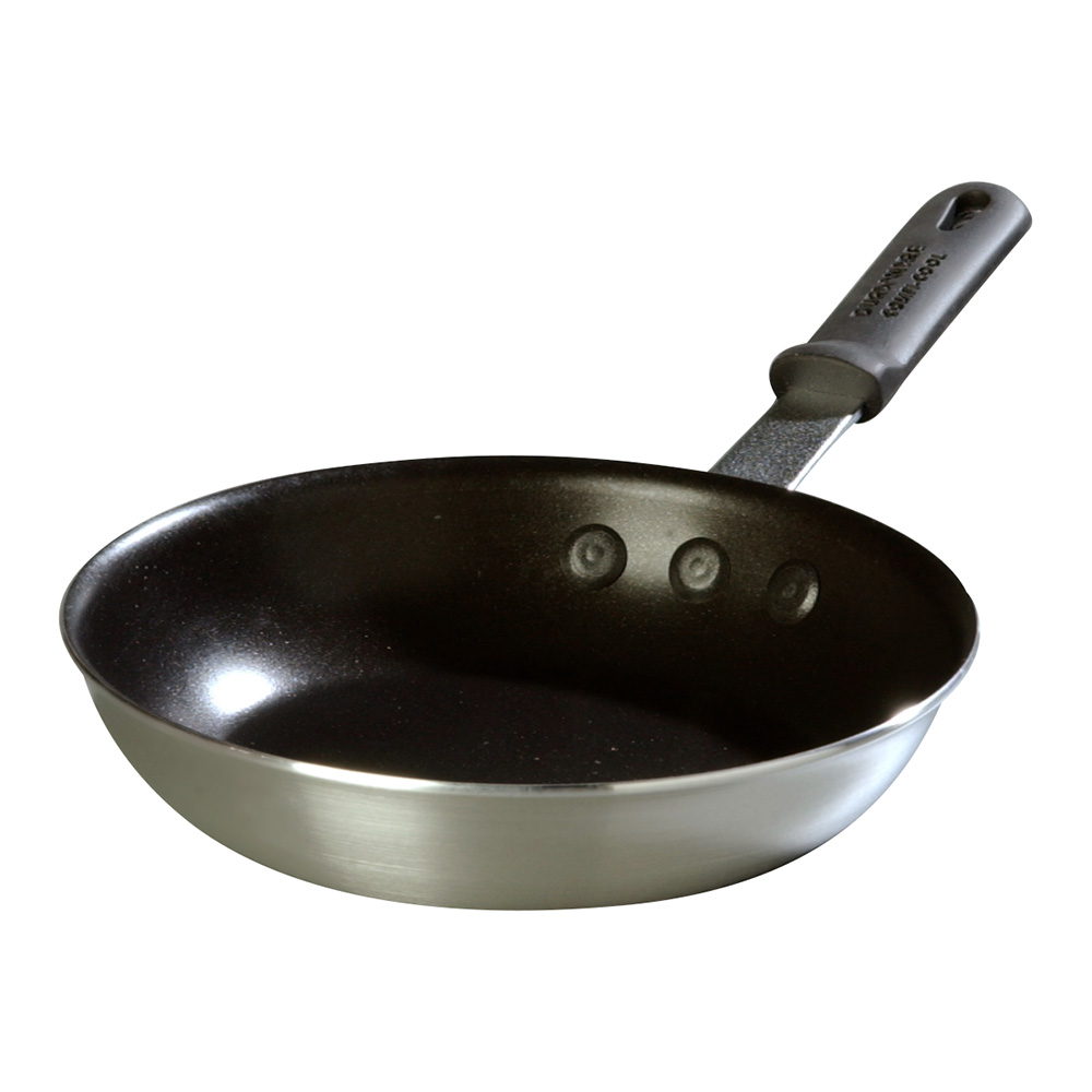 "Carlisle 60908SERS 8"" Non-Stick Aluminum Frying Pan w/ Solid Silicone Handle"