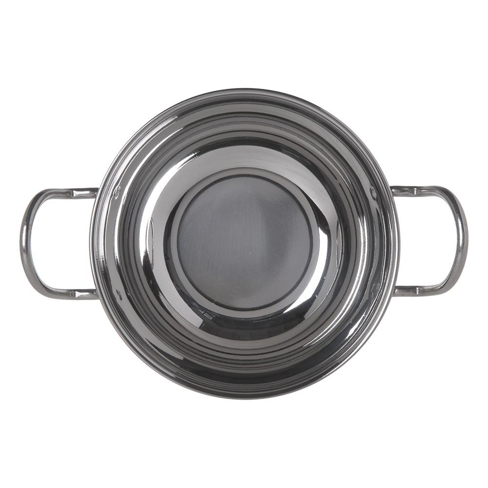 "Carlisle 609092 6"" Round Balti Dish w/ 20-oz Capacity, Stainless"