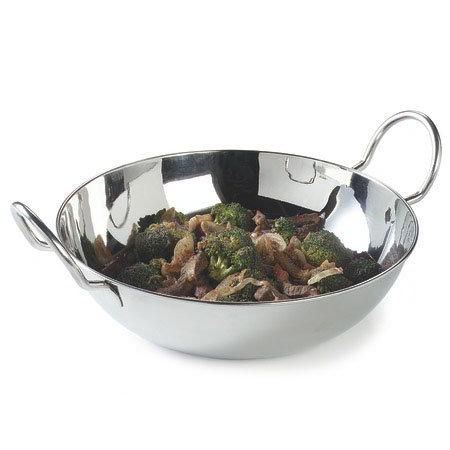 "Carlisle 609097 10-1/4"" Round Balti Dish - Stainless"