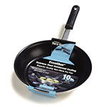 "Carlisle 60910XRS 10"" Non-Stick Steel Frying Pan w/ Solid Silicone Handle"