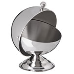 Carlisle 609131 10-oz Serving Bowl - Roll Top Cover, Stainless