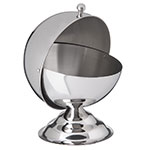 Carlisle 609132 14-oz Serving Bowl w/ Roll Top Cover, Stainless