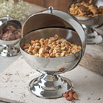 Carlisle 609133 30-oz Serving Bowl w/ Roll Top Cover, Stainless
