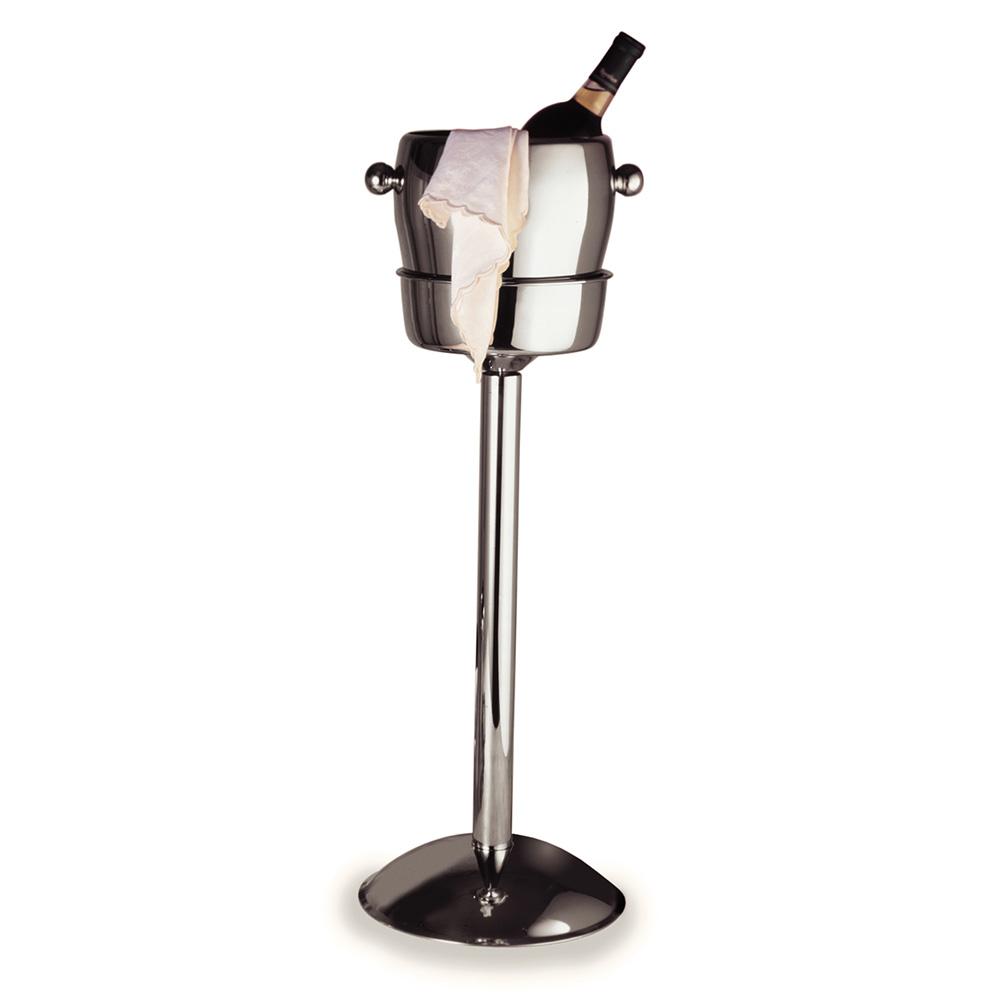 "Carlisle 609146 24""H Wine Bucket Stand w/ 1-Bucket Capacity, Stainless"