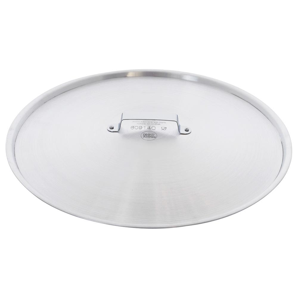 """Carlisle 60914C 14"""" Fry Pan Cover - Domed, Aluminum"""
