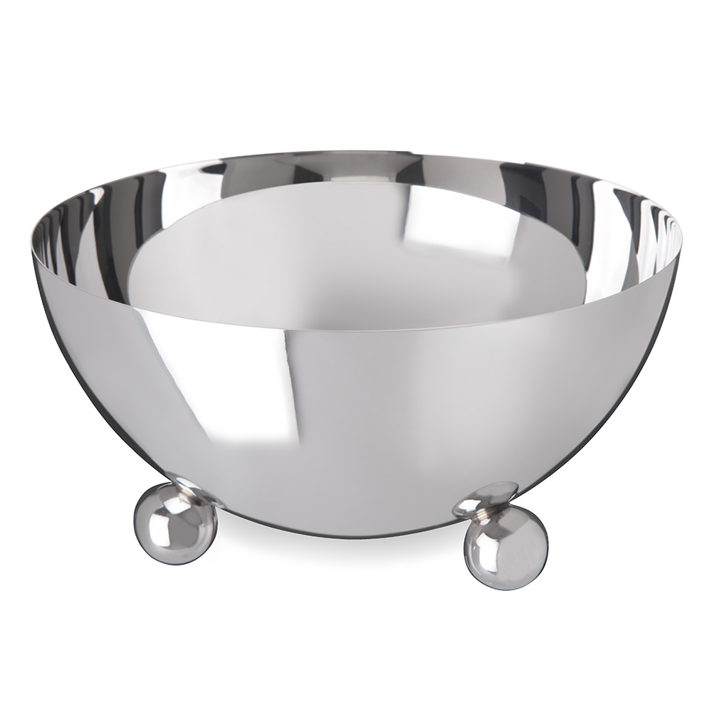 Carlisle 609173 48-oz Display Serving Bowl - Stainless Steel