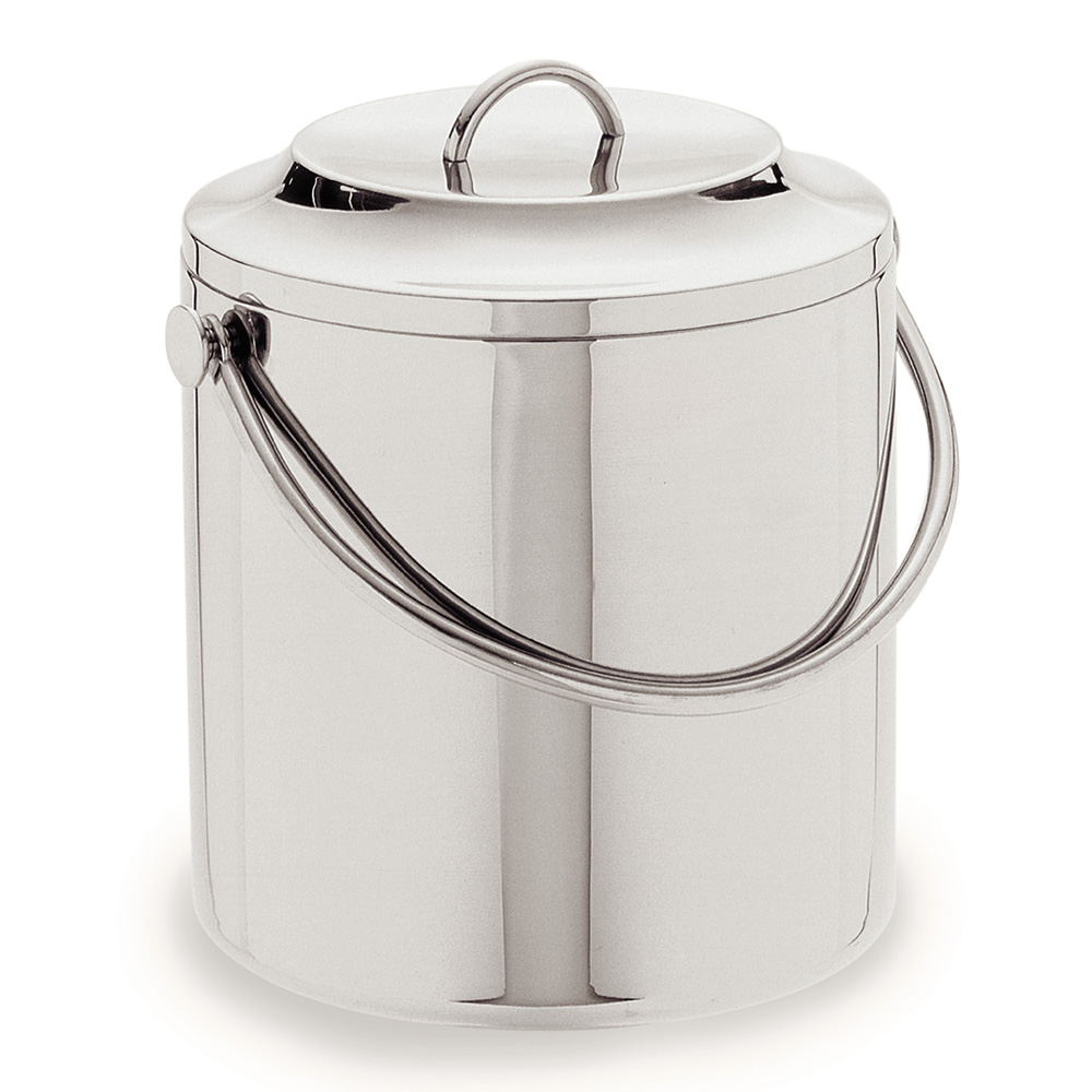 Carlisle 609193 3.5-qt Ice Bucket w/ Lift-Off Lid, Stainless