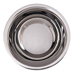 """Carlisle 609201 8"""" Round Dual Angle Bowl w/ 1.7-qt Capacity, Stainless"""