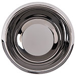 "Carlisle 609202 10"" Round Dual Angle Bowl w/ 3.38-qt Capacity, Stainless"