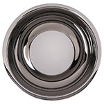 "Carlisle 609203 12"" Round Dual Angle Bowl w/ 5.75-qt Capacity, Stainless"