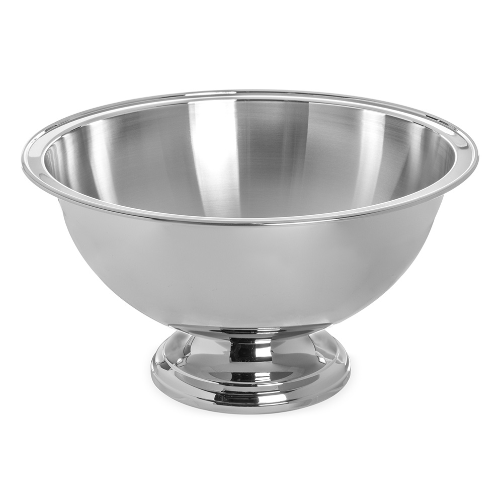 Carlisle 609310 10-qt Punch Serving Bowl - Stainless Steel