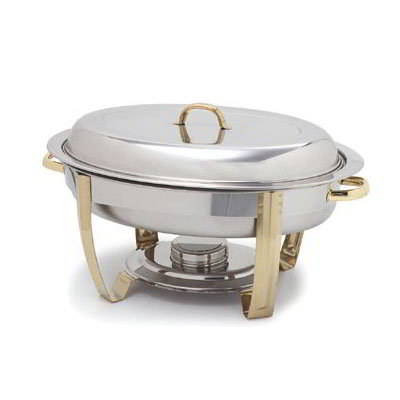 Carlisle 609520W 8-qt Chafer Water Pan - Stainless Steel