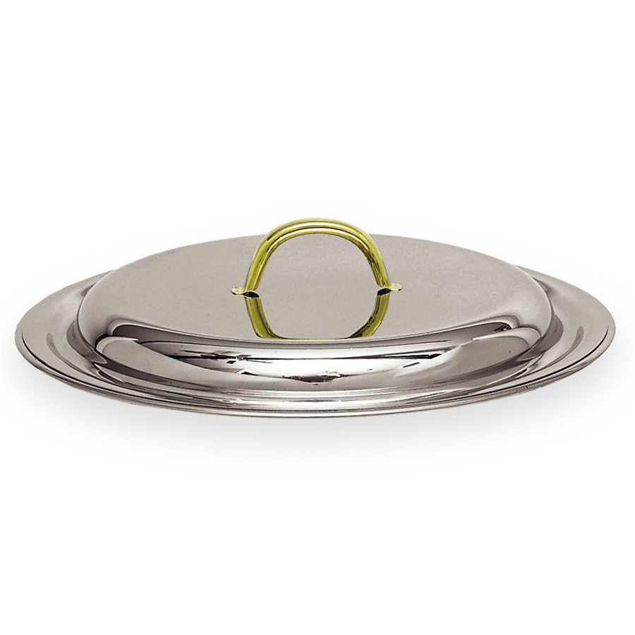 Carlisle 609530C 4-qt Round Chafer Cover - Lift Off Style, Stainless Steel