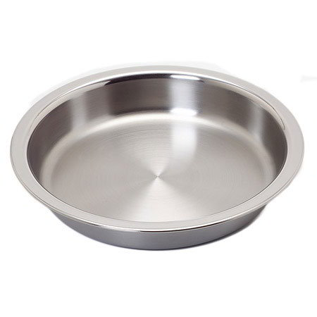 "Carlisle 609578F 15-3/4"" Round Chafer Food Pan - Stainless"