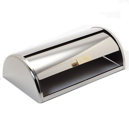 "Carlisle 609600C 6-1/2"" Rectangular Roll-Top Cover - Stainless Steel"