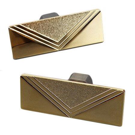 Carlisle 609600H Chafer Handle - (609600) Brass Plated Iron