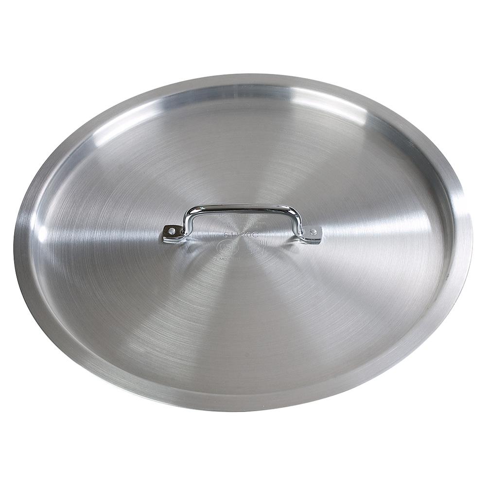 "Carlisle 61120C 16.25"" Brazier Pan Cover - Aluminum"