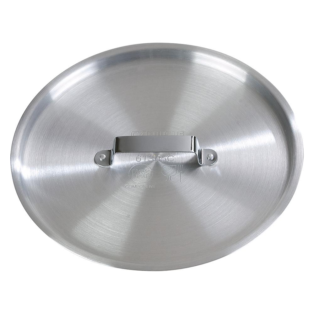 """Carlisle 61302C 7.5"""" Flat Sauce Pan Cover - Aluminum"""