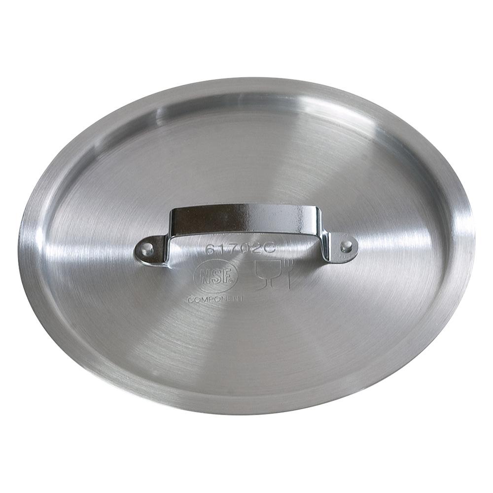 """Carlisle 61702C 8"""" Flat Sauce Pan Cover - Aluminum"""