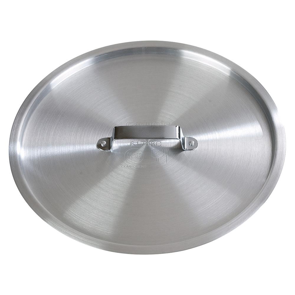 Carlisle 61710C 11.75qt Flat Saucepan Cover - Aluminum