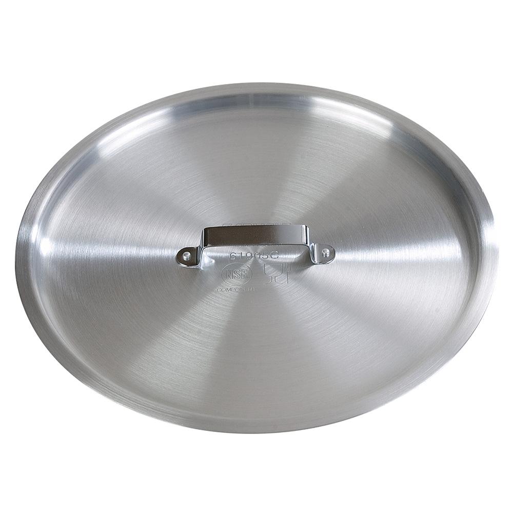 Carlisle 61905C 12.75qt Flat Saucepan Cover - Aluminum