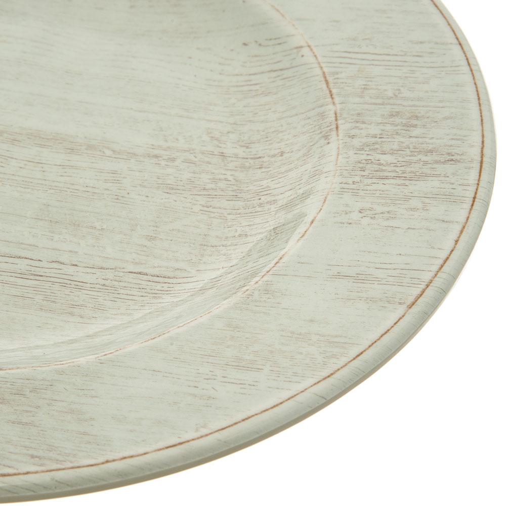 "Carlisle 6400106 11"" Round Dinner Plate - Melamine, Buff"