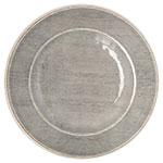 "Carlisle 6400118 11"" Grove Dinner Plate - Melamine, Smoke Gray"