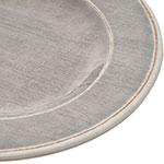 """Carlisle 6400118 11"""" Round Dinner Plate - Melamine, Smoke Gray"""