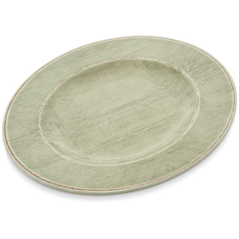 "Carlisle 6400146 11"" Round Dinner Plate - Melamine, Jade"
