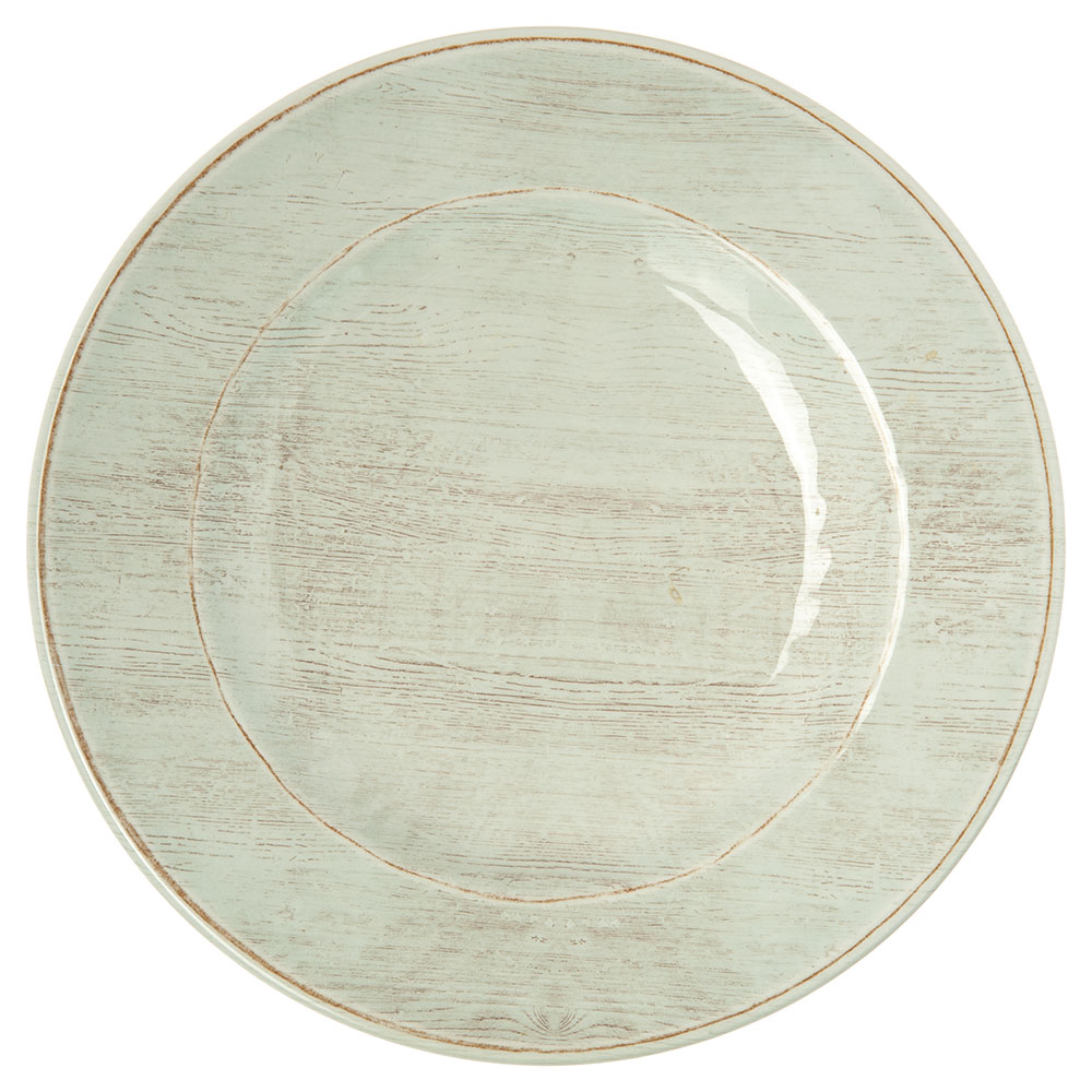 "Carlisle 6400206 9"" Grove Salad Plate - Melamine, Buff"