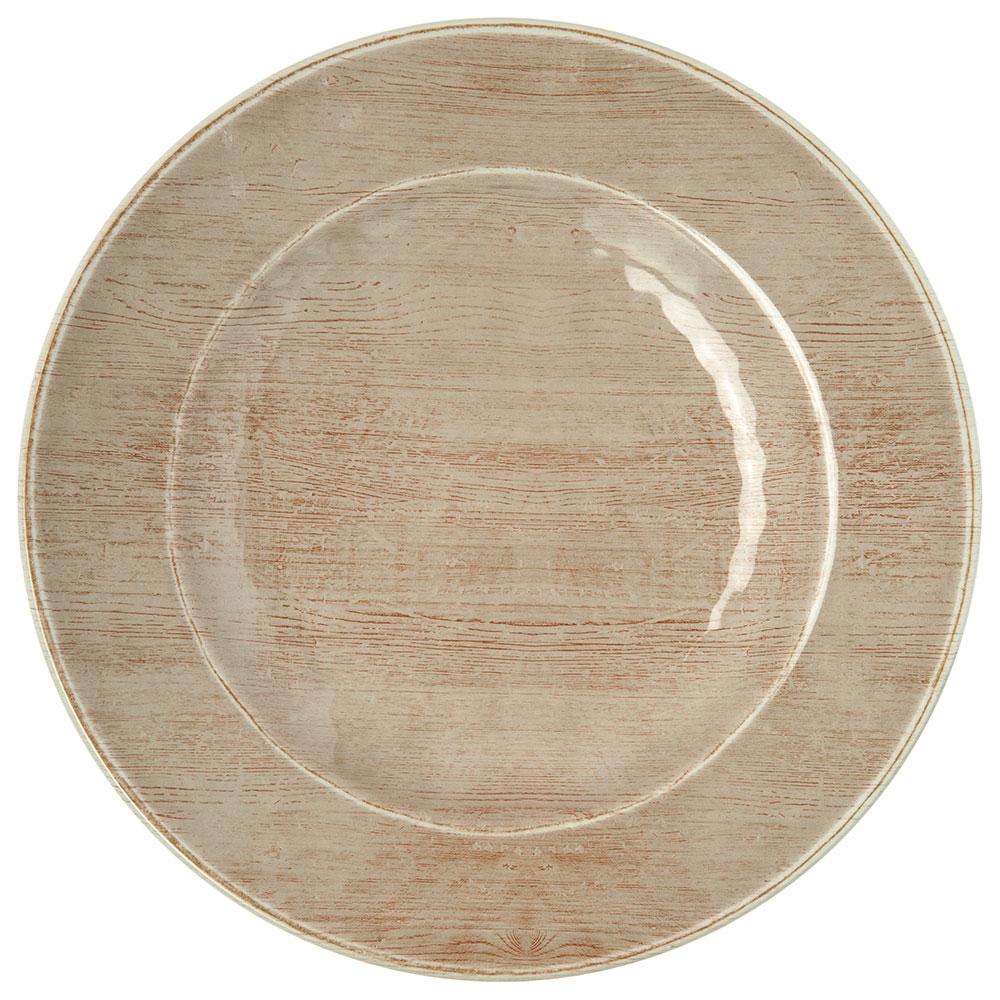 "Carlisle 6400270 9"" Grove Salad Plate - Melamine, Adobe"