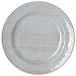 "Carlisle 6400706 7"" Round Grove Bread & Butter Plate - Melamine, Buff"