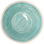 """Carlisle 6401315 7"""" Round Dessert Bowl w/ 27-oz Capacity, Melamine, Aqua"""