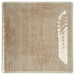 "Carlisle 6402270 10.5"" Grove Square Dinner Plate - Melamine, Adobe"